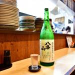 おおさわ - 八海山 特別純米原酒 1年貯蔵(グラス)@280円:新潟より。数量限定品。