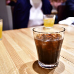 南青山エッセンス - 【燻製カツオとフェンネルの冷麺 セット@1,800円】アイスコーヒー