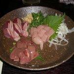 けとばし屋 - 三河鶏刺身