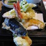 1359308 - 天ざる蕎麦大盛りの天ぷら