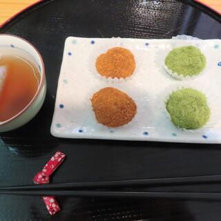 雪国のだんご屋 団平 - 料理写真: