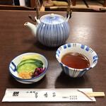 高嶋家 - お新香とお茶