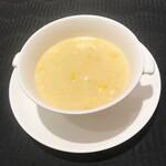 135904213 - フカヒレ入りコーンスープ