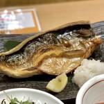 うお坐食堂 - 料理写真:特大とろ鯖塩焼き定食