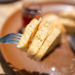 ウッドベリーコーヒーロースターズ - シンプルパンケーキ