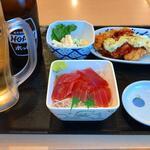 """錦糸町小町食堂  - どこか""""可笑しい""""ランチセット"""