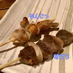 135916874 - なんこつと砂ズリ(各120円+税)