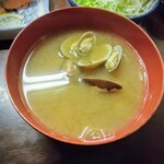 Kogureshokudou - あさりたっぷりでコクうま味噌汁!これだけでも飲む価値有り!