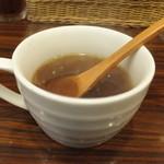 KITCHENはんおむ - オニオンスープ