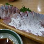 麺処 たかしな - イナダ半身(400円)