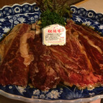 135922710 - 薄切り焼肉/食べ比べ盛り合わせ