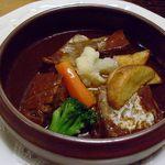 レストラン福鶴亭 - 料理写真:ビーフシチュー。セットでも単品でも注文できます。