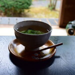 Chaanfuyou - ~茶庵 芙蓉~             熱々の塩こぶ茶