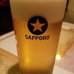 ライオンのいるサーカス - 生ビール(700円)