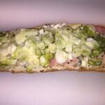 ベッカライ ツェッペリン - 料理写真:この葱のタルティーヌがあると嬉しくなります‼️