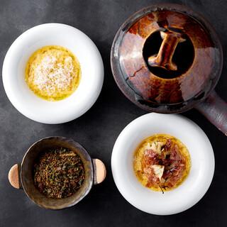 徳吉シェフと平山シェフの感性が融合し生まれる料理