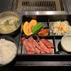 京昌園 - 料理写真:カルビ定食 1480円