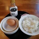 135939327 - 玉子かけご飯(350円)