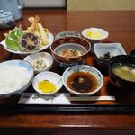和食味処 海幸 - 天ぷら定食その2
