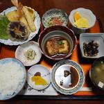 和食味処 海幸 - 天ぷら定食その1
