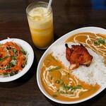 パシュパティ - 料理写真:ダブルカレーライス
