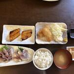 えびせい - 地魚定食 1500円