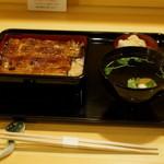 松川 - 2012.6 鰻重月(3,465円)