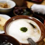 うなぎ 量深 - 麦とろ天ぷら御膳 1600円