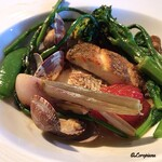 K.Cダイニング - 真鯛のPoêlé 浅蜊と菜花のNage