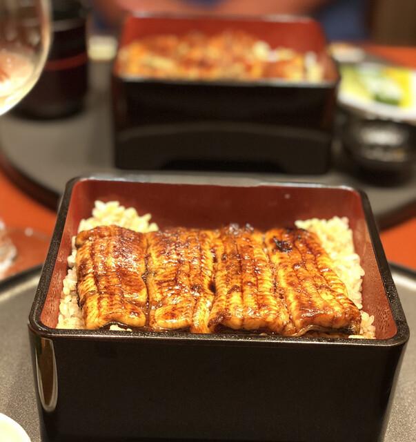 旗の台 うなぎ上松の料理の写真