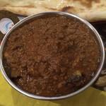 リトル カトマンドゥ - ナスとひき肉カレー上から