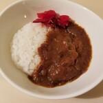カレーショップ インデアン  - お茶碗カレー