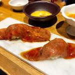 博多中洲 肉寿司 -