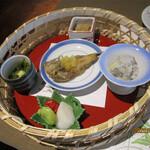 磯原シーサイドホテル ロハステーブル - 料理写真:前菜