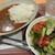 おもひやりカフヱー - 料理写真:カレーライスと新鮮なサラダのセット690込