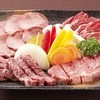 Ushisuke - 料理写真:うしすけセット4980円(3~4人前)上タン、上カルビ、上ロース、上ハラミ、上バラ