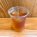 山中湖花の都公園フローラルドームふらら - 紅茶だったかな?