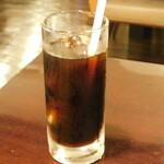 いくら丼 旨い魚と肴 北の幸 釧路港 - アイスコーヒー(ランチタイムサービス)