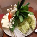 岩戸屋 - 水炊きの野菜