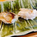 鮨長おおさわ - 鮎。1番美味かった。