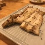 華ぶさ - 穴子の白焼き、めっちゃ油のっていて美味い