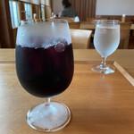 アドリア北出丸カフェ - ぶどうジュース