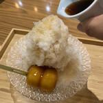 甘味や 澤田商店 - みたらし氷
