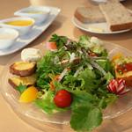 エヌプラスカフェ - 本日の採りたて新鮮野菜ランチ(B面)