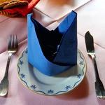 ゲストハウス ダーラナ - テーブルセッティング
