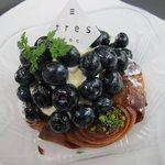 Toresuefubishi - ブルーベリークレームパティシェール