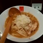高田 煮干しと焼き味噌 豆亭 - 大人の焼き味噌ラーメン