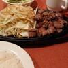 バンボリーナ - 料理写真:ランチメニュー サイコロステーキ