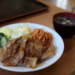 安楽食堂 - 料理写真:焼肉ライス 500円