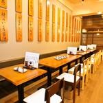 大衆魚食堂 幸村 市ヶ谷 - 少人数から大人数まで対応な広めのテーブル席
